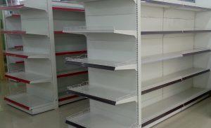 Rak toko ideal untuk minimarket /toko kelontong modern