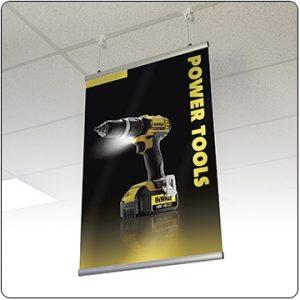hanging banner